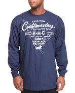 Akoo Men Craftmasters L/S Tee Navy 3X-Large