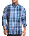 Men Seabrook L/S Plaid Button Down Large