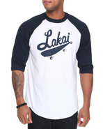 Men Ballpark Baseball Jersey Tee X-Large