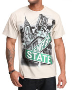 5Ive Jungle Men Street Soldier Tee Khaki Large