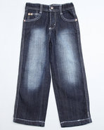 Boys 4180 Straight Fit Jeans (4-7) Dark Wash 4