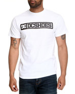 Dc Shoes Men Progro Tee White Small