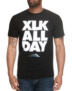 Men Xlk All Day Tee Black X-Large