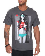 Men Four Eyed Freak Tee Grey X-Large