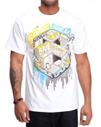 5Ive Jungle Men King&#39;s County Tee White Medium