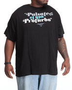 Men Latin Translation S/S Tee (B&T) Black 3X-Large