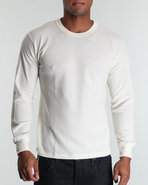 Drj Army/Navy Shop Men Thermal Knit Top Beige Xx-L