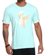 Lavie Men Crestfall S/S Tee Teal 3X-Large