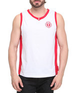 Men Layover Tank White Medium