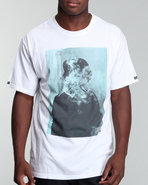 Men Smokin Tee White Small
