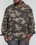 Men Long Sleeve Imaginative Shirt (B&T) Camo 4X
