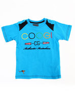 Coogi Boys Crew Neck Coogi Tee (4-7) Blue 5