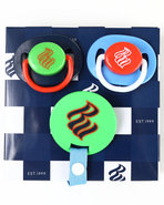 Boys 3 Pack Pacifiers (Newborn) Blue