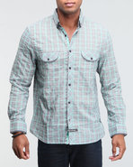 Men The Leicester Button Down Shirt (Under Collar