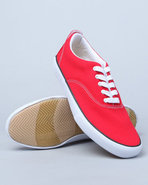 Men Keds Anchor Canvas Sneakers Red 9.5
