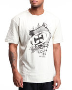 Men Counter Culture Tee Khaki Small