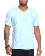 Lavie Men Dubai 2004 S/S Tee Light Blue 4X-Large