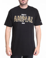 Imking Men Party Animal Tee Black Xx-Large