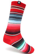 Dc Shoes Men Swillbot Socks Red 10-13
