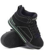 Boys Mid Sneaker (Kids) Lime Green 2