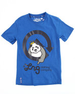 Lrg Boys The Homeboy Panda Tee (4-7) Blue 4