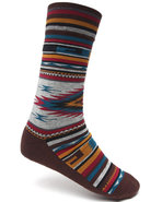 Men Outpost Socks Brown Small/Medium