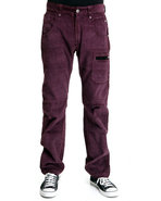 Men Commet Colored Corduroy Pant Maroon 38