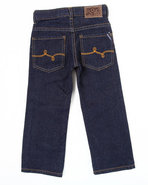 Lrg Boys Naturalist Straight Fit Jean (4-7) Dark W