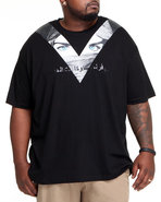 Lavie Men Dubai 2 X Agent S/S Tee Black 3X-Large