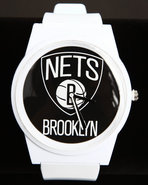 Men Brooklyn Nets Pantone Nba Flud Watch White