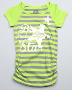 Girls Tee Shirt (Big Girls) Green 12/14 (L)