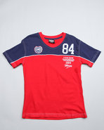 Boys Winger V Neck Tees (8-20) Red 8 (S)