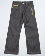 Boys Flap Pocket Jeans (8-20) Dark Wash 12