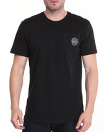 Men Required Alpha Crew Shirt Black Large