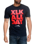 Men Xlk All Day Tee Navy X-Large