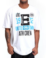 Men Athletic Crew Tee White Medium