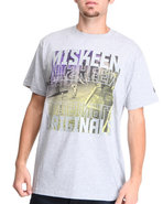 Men Photo Reel Tee Grey 3X-Large