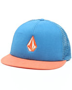 Men Tradition Mesh Snapback Cap Orange