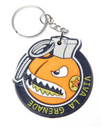 Men Recruiter Keychain Orange
