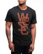 Wesc Men Overlay Tee Black Small