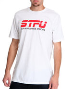Huf Men Stfu Tee White Xx-Large