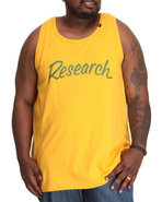 Lrg Men Big Research Tank Top (B&T) Gold 4X-Large