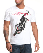 Men Panther S/S Tee White Xx-Large