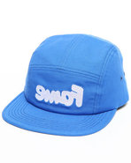 Hall Of Fame Men Snafu Nylon 5-Panel Cap Blue