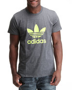 Men Trefoil Tee Grey Small