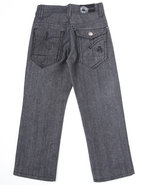 Boys Star Jeans (4-7) Dark Wash 4