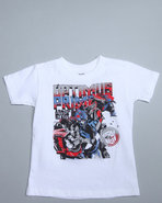 Boys Optimus Prime Tee (2T-4T) White 2T