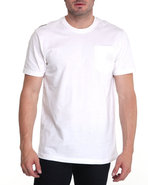 Men Required Alpha Crew Shirt White Large
