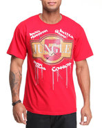 5Ive Jungle Men Tiles Tee Red Large