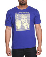 Lavie Men Between The Lines S/S Tee Blue 3X-Large